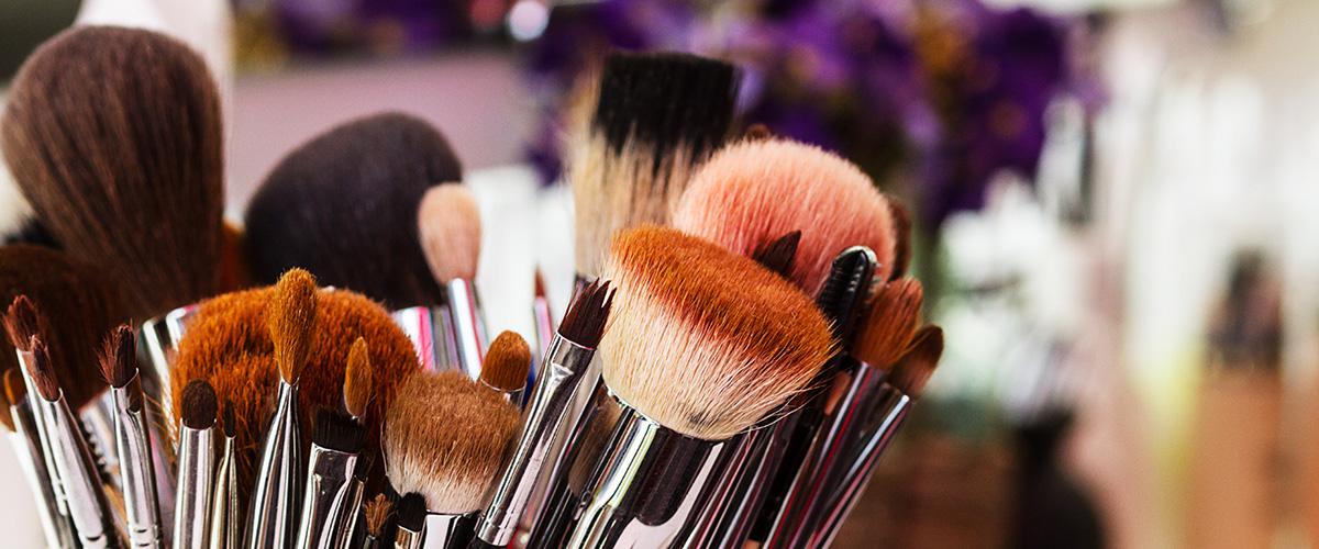 beauty make-up brushes