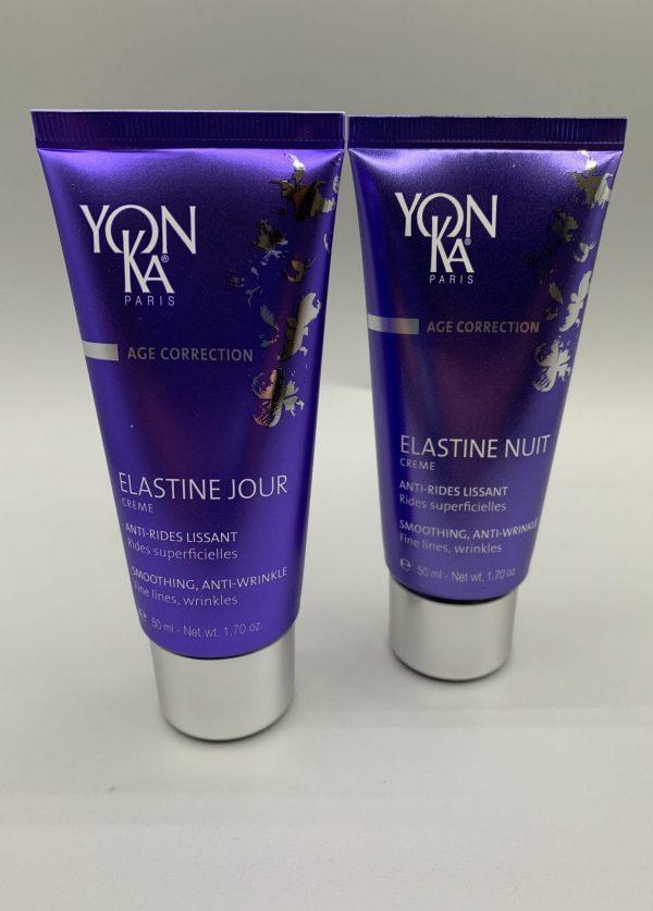 age correcting day night cream, elastine