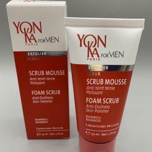 foam scrub cleanser