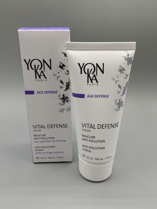 age prevention cream protects against pollution